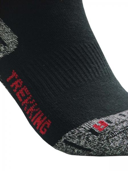 GROJADORI 3 Paar Trekking Socken Wandersocken Outdoorsocken, Detail